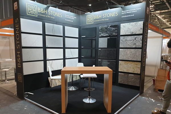 B&H Custom Exhibition Stand