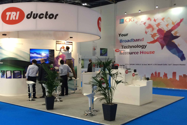 Triductor International Exhibition Stand
